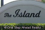 The Island sign
